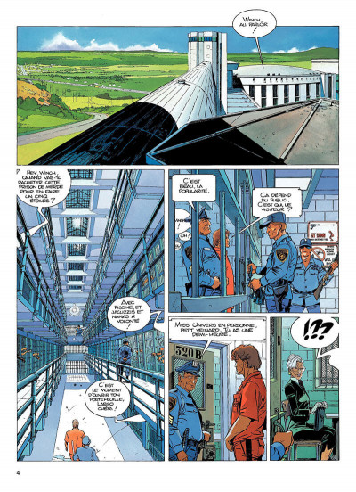 Page 3 largo winch tome 12 - shadow