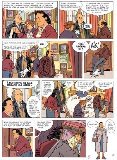 Page 2 jérôme k. jérôme bloche tome 16 - la lettre