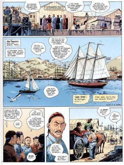 Page 3 chinaman tome 1 - la montagne d'or