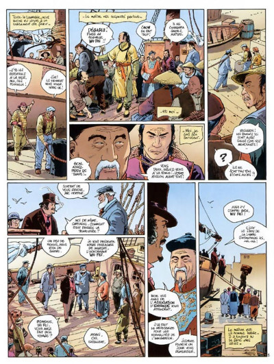 Page 4 chinaman tome 1 - la montagne d'or