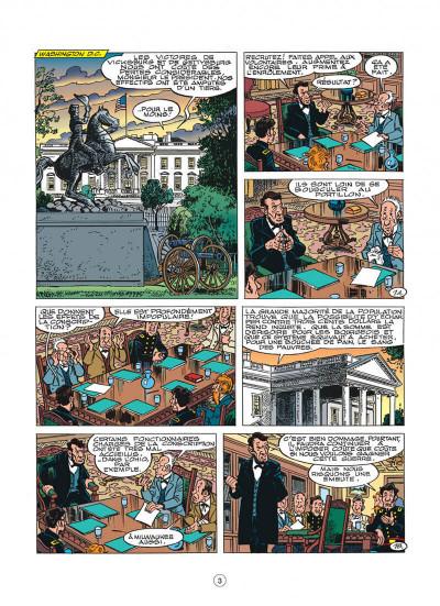 Page 3 les tuniques bleues tome 45 - émeutes à new york