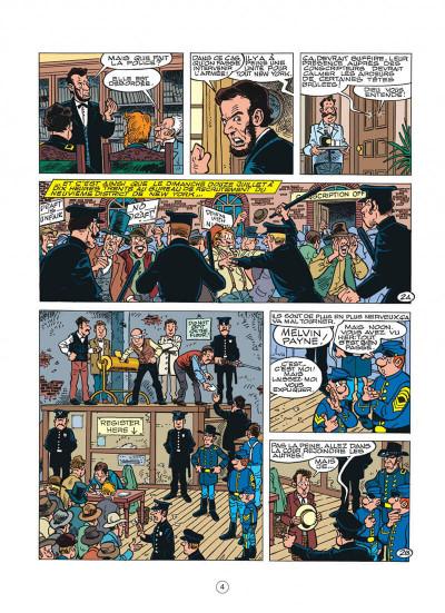 Page 4 les tuniques bleues tome 45 - émeutes à new york