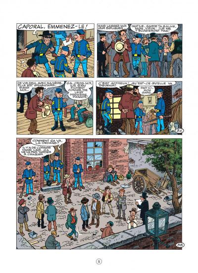 Page 5 les tuniques bleues tome 45 - émeutes à new york