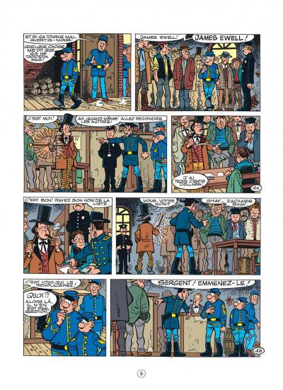 Page 6 les tuniques bleues tome 45 - émeutes à new york
