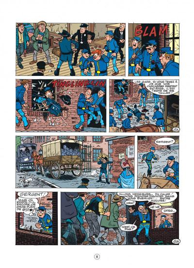 Page 8 les tuniques bleues tome 45 - émeutes à new york