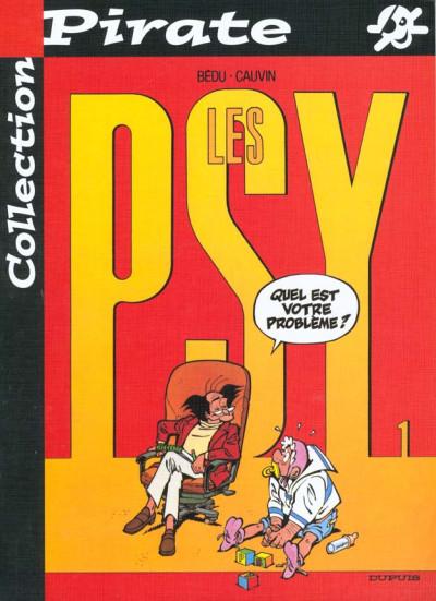 Couverture Les psy (pirate) tome 1 - quel est votre probleme