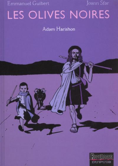 Couverture les olives noires tome 2 - adam harishon