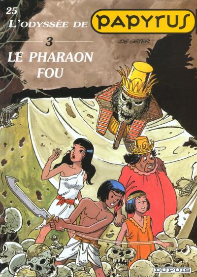 image de papyrus tome 3 - le pharaon fou
