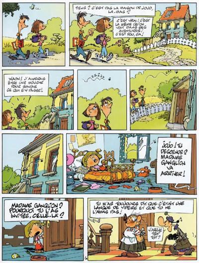 Page 3 jojo tome 11 - les choix de charlotte