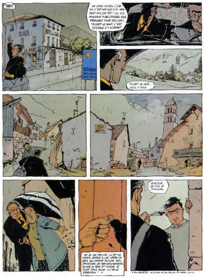 Page 5 le choucas tome 4 - le choucas n'en mène pas large