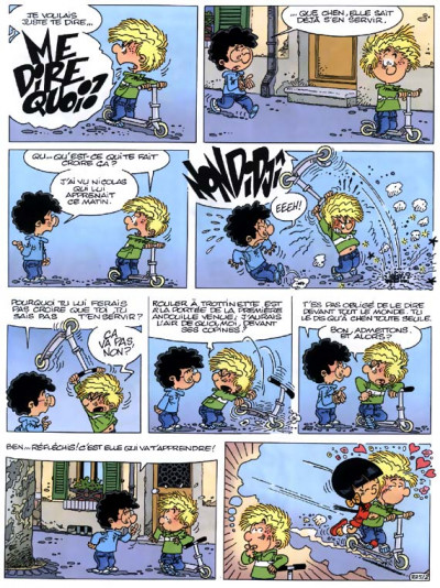 Page 1 cédric tome 16 - où sont les freins ?