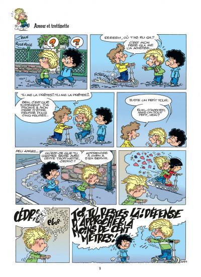 Page 3 cédric tome 16 - où sont les freins ?