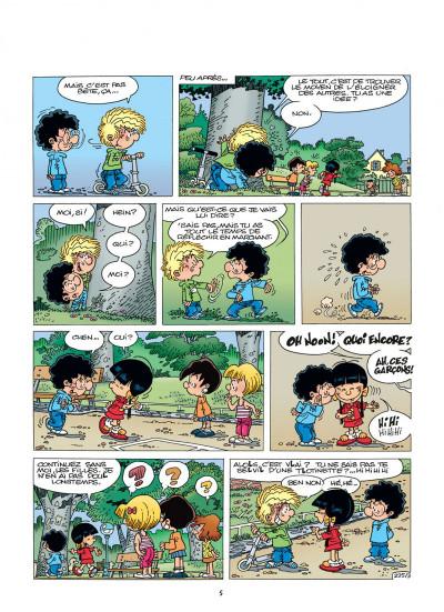 Page 5 cédric tome 16 - où sont les freins ?