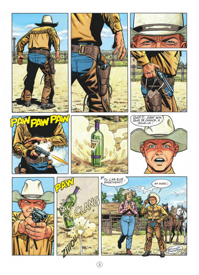 Page 3 buck danny tome 50 - sabotage au texas