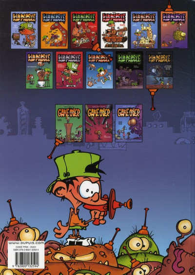 Dos Kid Paddle tome 8
