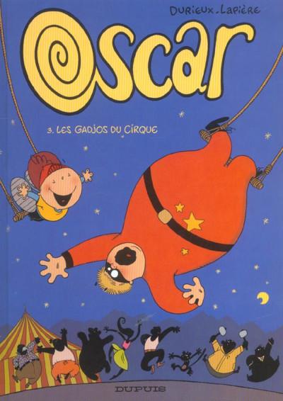 Couverture Oscar tome 3 - les gadjos du cirque