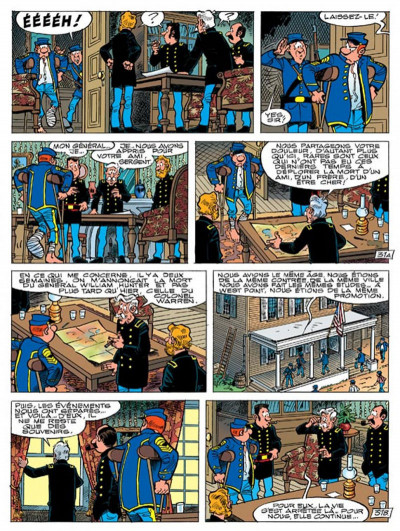 Page 1 les tuniques bleues tome 46 - requiem pour un bleu
