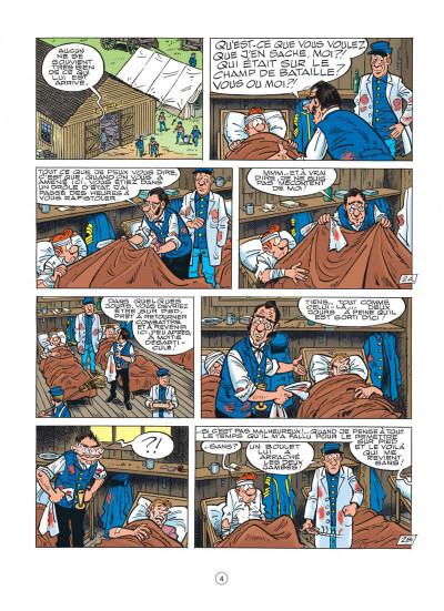 Page 4 les tuniques bleues tome 46 - requiem pour un bleu