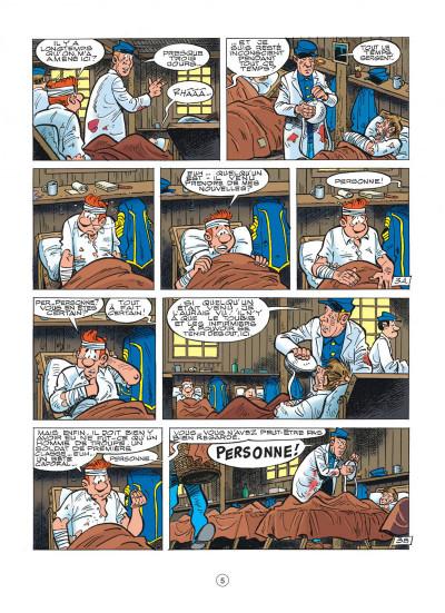 Page 5 les tuniques bleues tome 46 - requiem pour un bleu