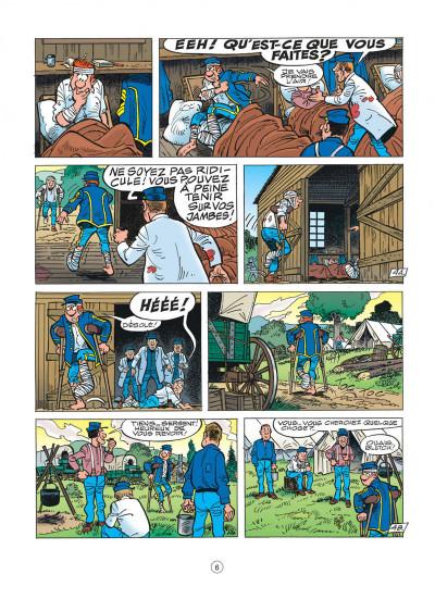 Page 6 les tuniques bleues tome 46 - requiem pour un bleu