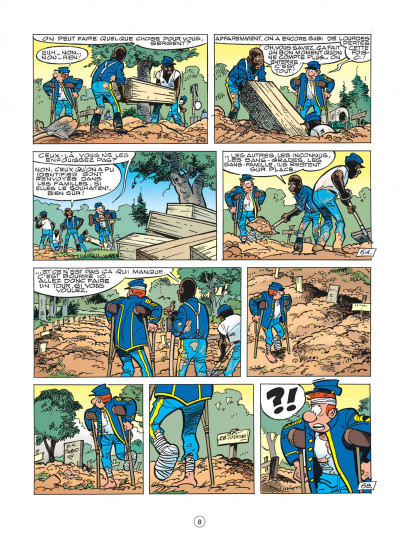 Page 8 les tuniques bleues tome 46 - requiem pour un bleu