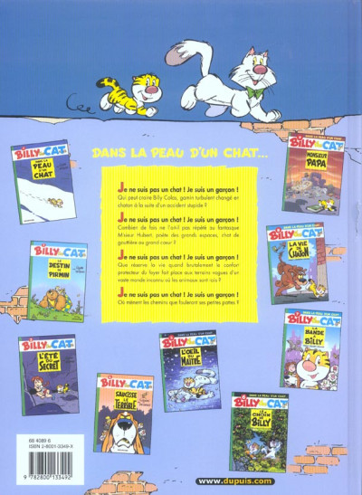 Dos billy the cat tome 9 - monsieur papa