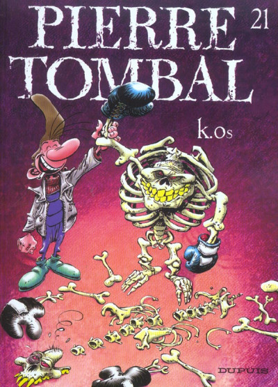 image de pierre tombal tome 21 - k.os