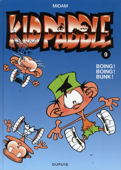 Couverture Kid Paddle tome 9