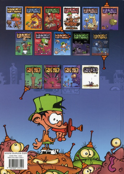 Dos Kid Paddle tome 9