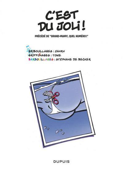 Page 1 le petit spirou tome 12 - c'est du joli