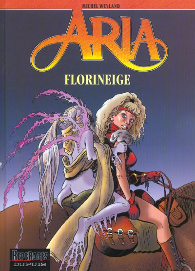 Couverture aria tome 25 - florineige