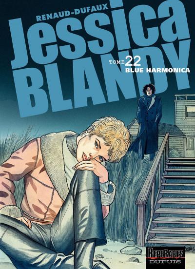 Couverture Jessica Blandy tome 22 - blue harmonica