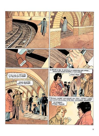 Page 4 Jessica Blandy tome 22 - blue harmonica
