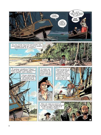Page 3 l'epervier tome 6 - les larmes de tlaloc