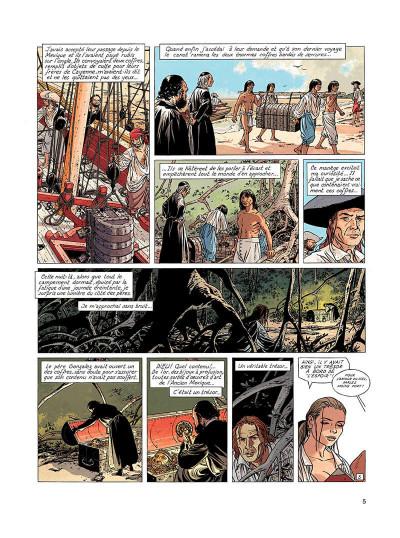 Page 4 l'epervier tome 6 - les larmes de tlaloc
