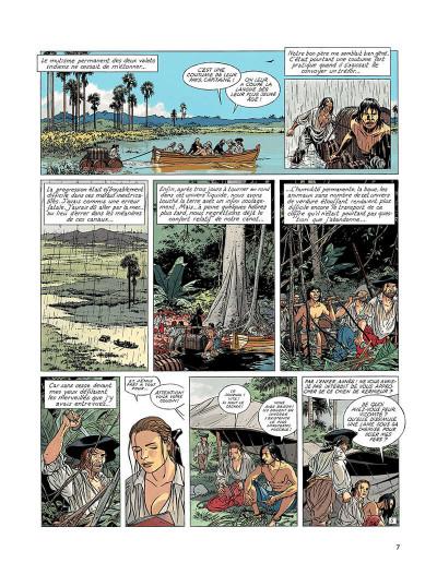 Page 6 l'epervier tome 6 - les larmes de tlaloc