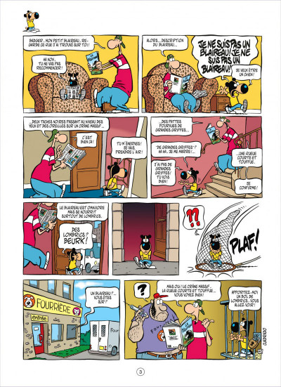 Page 3 parker & badger tome 2 - oups