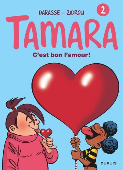 Couverture tamara tome 2 - c'est bon l'amour