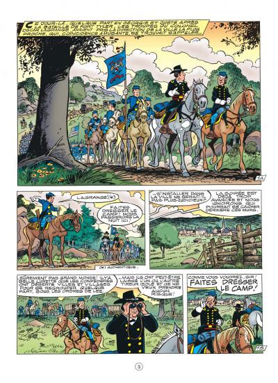 Page 3 les tuniques bleues tome 47 - les nancy hart