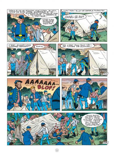 Page 5 les tuniques bleues tome 47 - les nancy hart