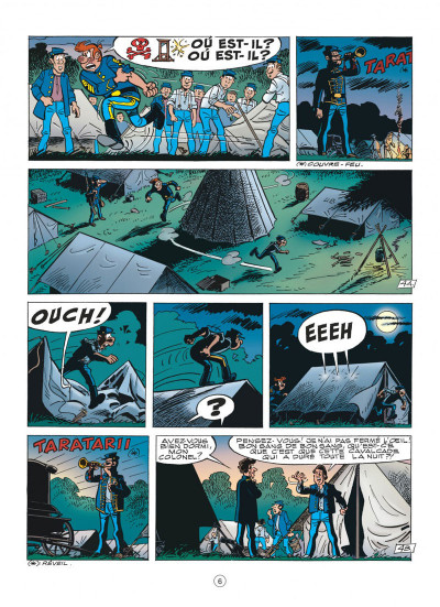 Page 6 les tuniques bleues tome 47 - les nancy hart
