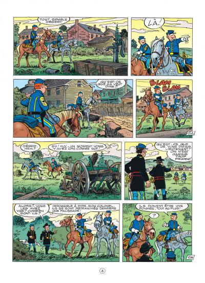 Page 8 les tuniques bleues tome 47 - les nancy hart