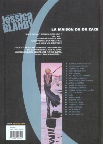 Dos jessica blandy tome 2 - la maison du docteur zack