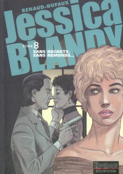 Couverture Jessica blandy tome 8 - sans regrets, sans remords