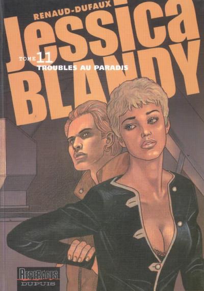 Couverture Jessica Blandy tome 11 - troubles au paradis