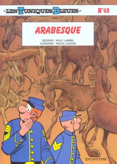 Couverture les tuniques bleues tome 48 - arabesque
