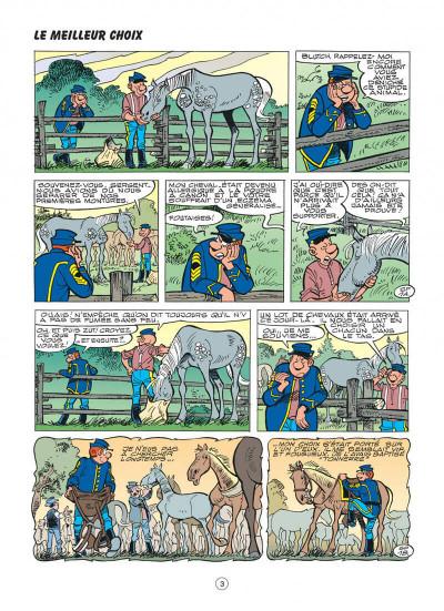 Page 3 les tuniques bleues tome 48 - arabesque