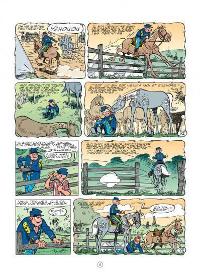 Page 4 les tuniques bleues tome 48 - arabesque