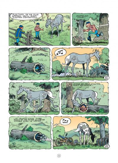 Page 5 les tuniques bleues tome 48 - arabesque