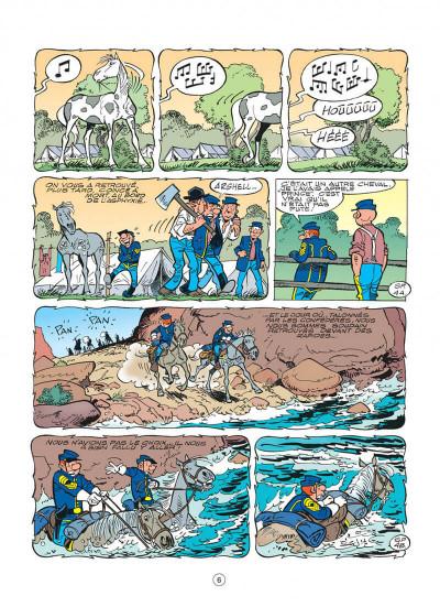 Page 6 les tuniques bleues tome 48 - arabesque